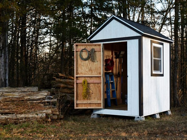 Cheap and affordable storage shed
