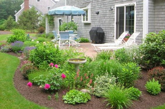 15 Landscaping Ideas Around Patio And Paved Areas