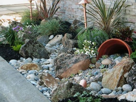 21 Landscaping Ideas For Rocks Stones And Pebbles Fit Into An Outdoor E