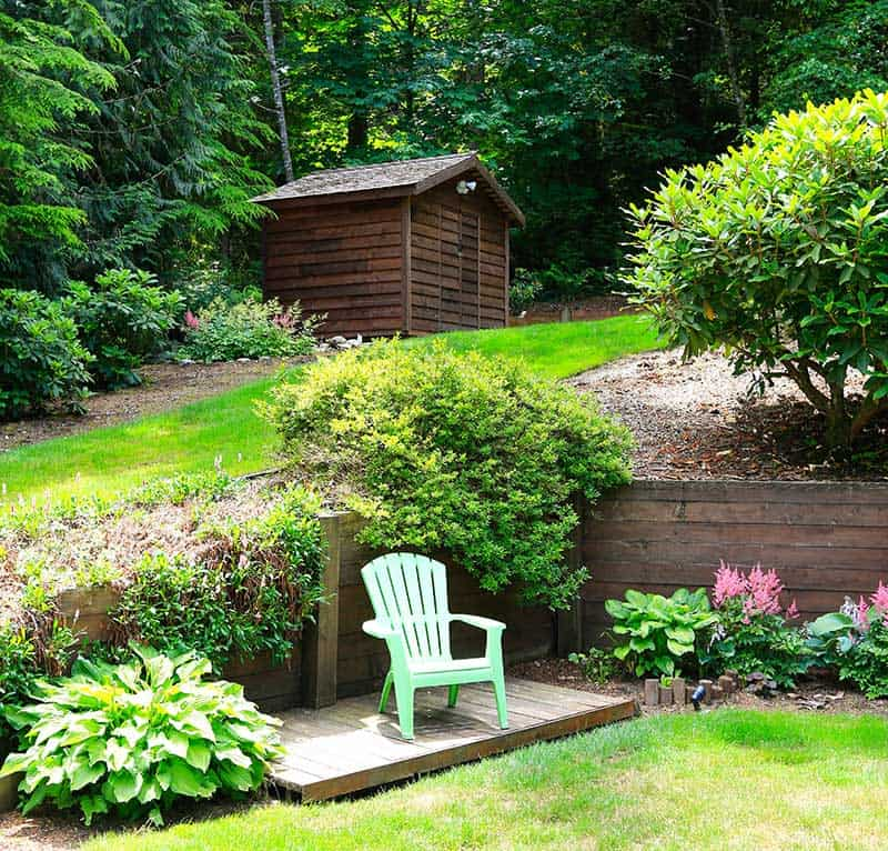 Ideas For A Small Sloping Garden | Fasci Garden on Steep Sloping Garden Ideas id=83213