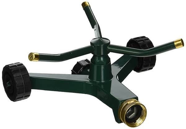 Rotary Garden Sprinkler - Orbit_Metal_Sprinkler