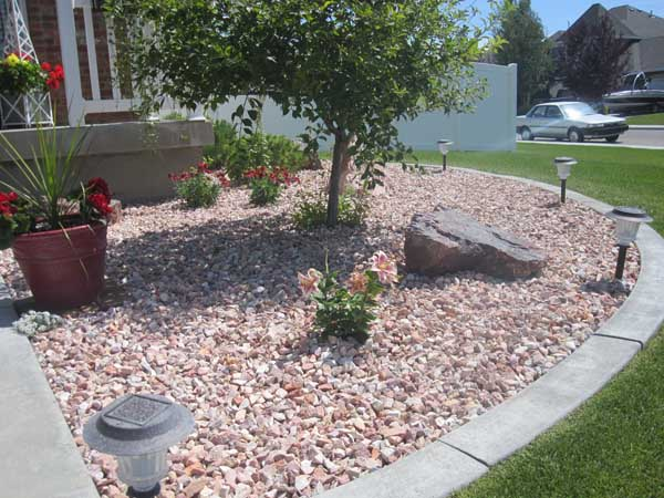 21 Landscaping Ideas For Rocks Stones And Pebbles Fit Into