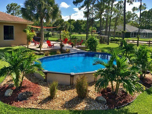 Landscaping Ideas for Above Ground Pools - Zacs Garden