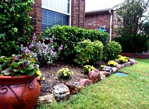 Landscaping With Small Rocks Ideas For Front