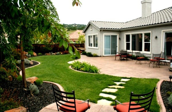 17 Landscaping Ideas for Ranch Style Homes - Zacs Garden on ranch house walkways, ranch house doors, ranch house decor, ranch house furniture, ranch house driveways, ranch house landscaping designs, ranch style design interior, cabin patio design, ranch house limestone, ranch living room design, ranch house patio cover, ranch house front patio, ranch house construction, ranch house fireplaces, ranch house fencing, ranch house decks, ranch house lighting, ranch house stone, ranch house outdoor patio, ranch home interior design,