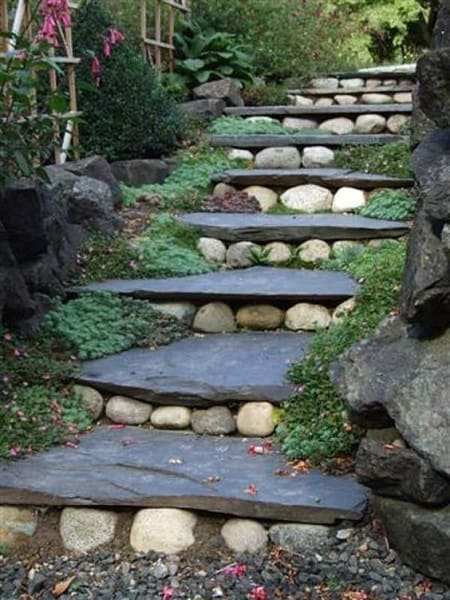 21 Landscaping Ideas for Slopes - Slight, Moderate and Steep on muddy backyard ideas, hill backyard ideas, boring backyard ideas, slope backyard ideas, dry backyard ideas, hilly backyard ideas, green backyard ideas, narrow backyard ideas, small backyard ideas, medium backyard ideas, expensive backyard ideas, sport backyard ideas, long backyard ideas,