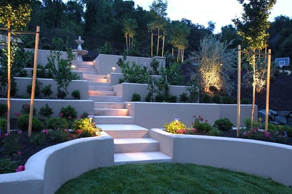 21 Landscaping Ideas for Slopes - Slight, Moderate and Steep on Tiered Yard Ideas id=93885