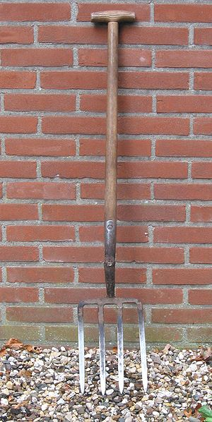Gardening tools - about the weeding fork