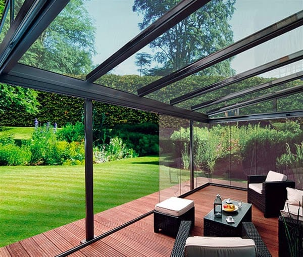 Not Your Ordinary Patio Cover Ideas - glass patio cover