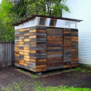 rectcled_wood_shed