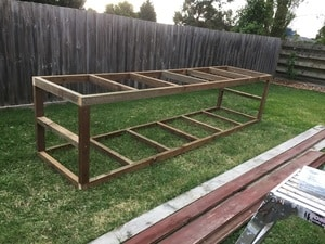 Building a Garden Bed from Garden Bed Plans