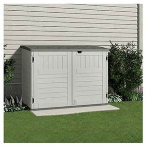 Suncast_BMS4700_The_Stow-Away_Horizontal_Storage_Shed