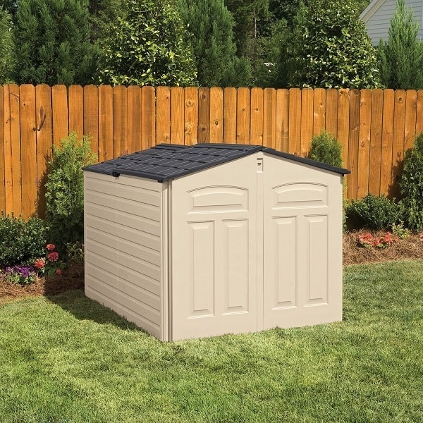 The Pros And Cons Of The Rubbermaid Slide Lid Shed Zacs