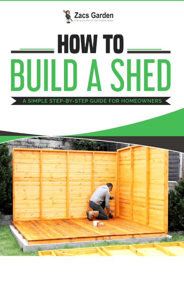 How to Build a Shed Ebook - ZacsGarden