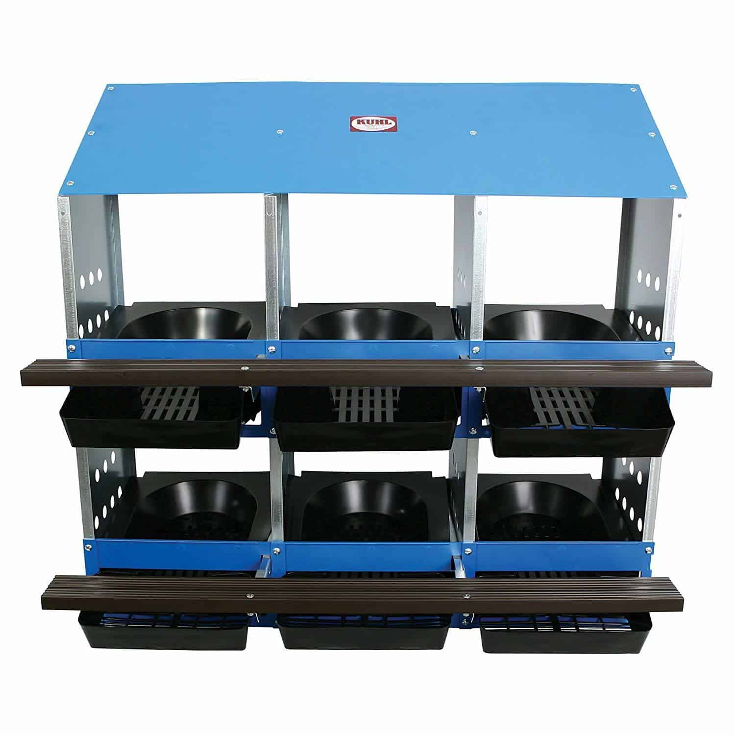 6 Hole Roll Out Poultry Egg Laying Nest Box