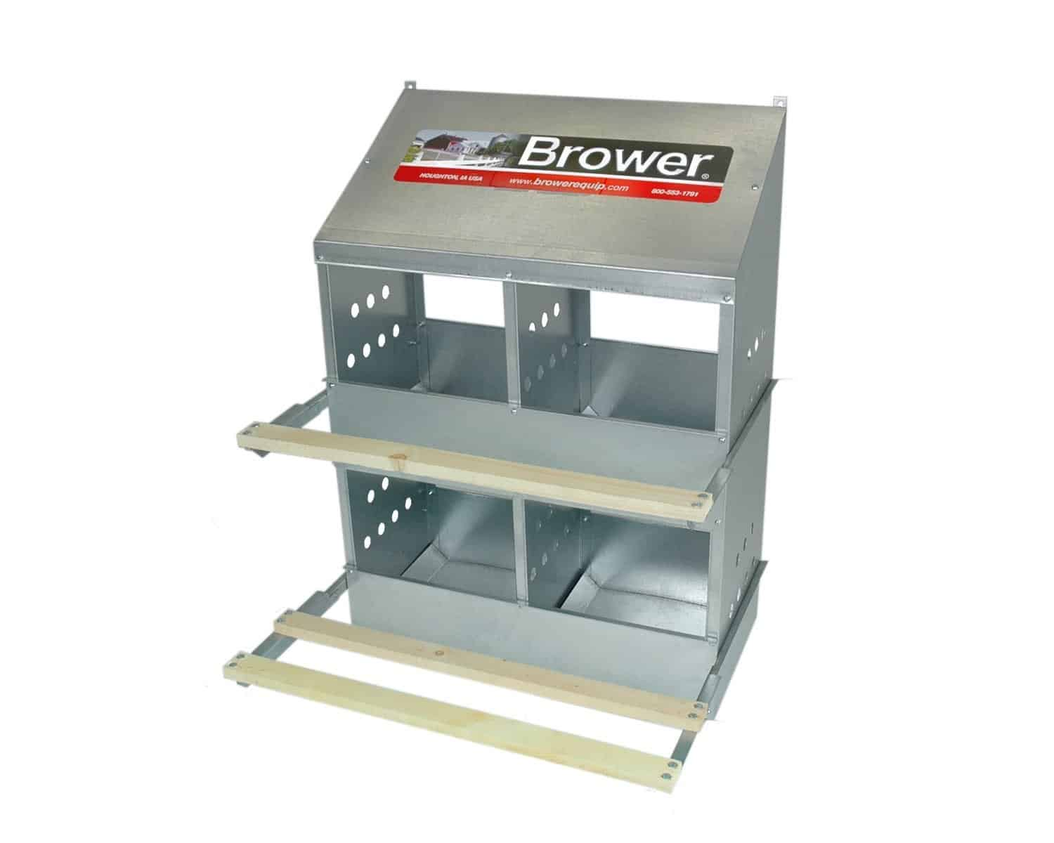 Brower Poultry nesting boxes