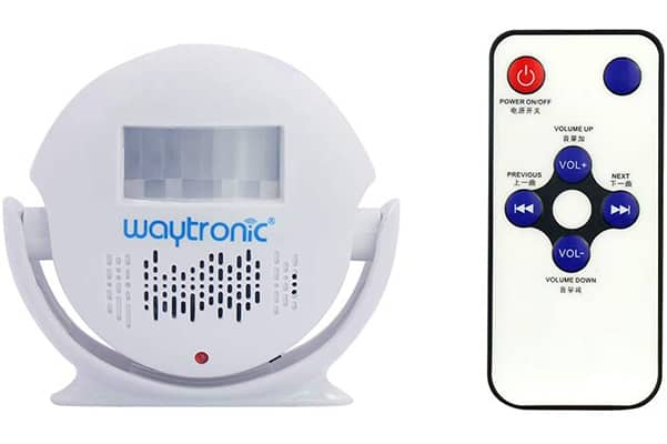 Ceiling 360 IR sensor alarm with remote