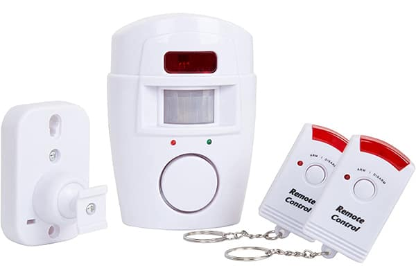 Everyday Wireless Motion Sensor Alarm With Two Remotes