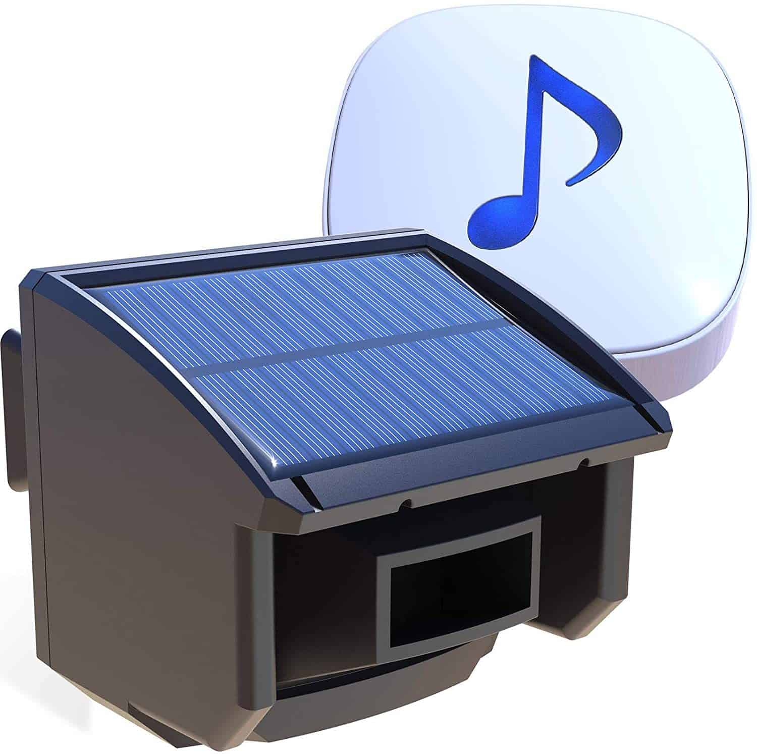 Htzsafe Outdoor Solar Powered Alarm System