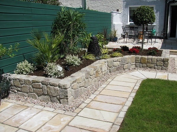 Landscaping-Timbers - Concrete -Pavers