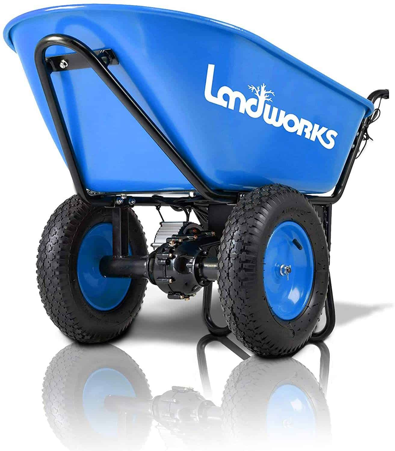 Landworks Electric Wheelbarrow