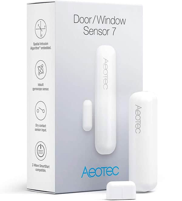 Z-Wave Plus Magnets Door Window Sensor