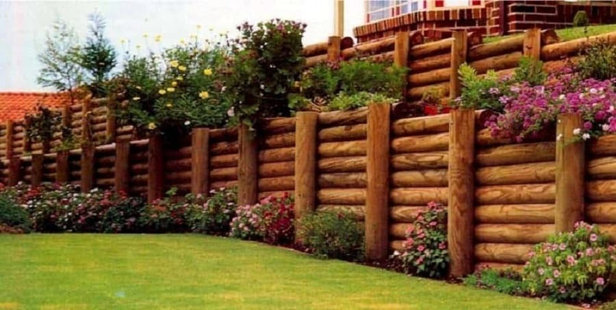 wood-backyard-landscaping-timbers